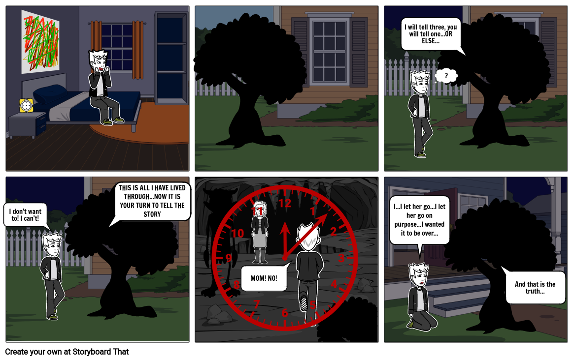 A Monster Calls The Monster And The Yew Tree Find & download free graphic resources for christmas tree cartoon. storyboard that