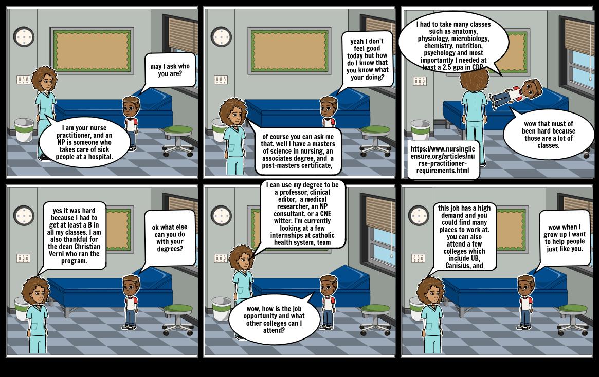 story board nurse
