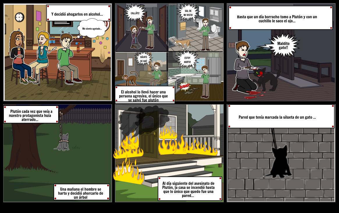comic gato negro p2
