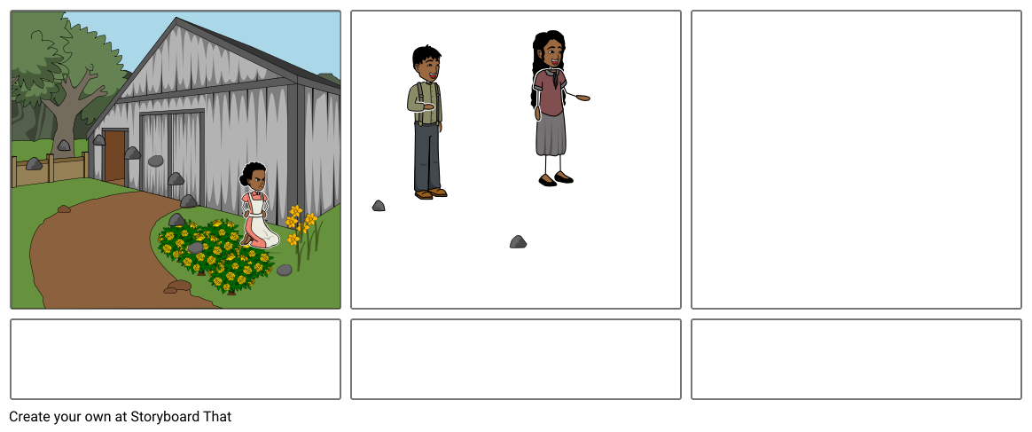 Marigolds Story Board English 4/16/19