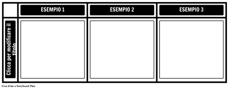 3 Esempi Grafico