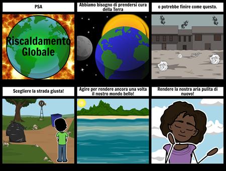 Annuncio di Servizio Pubblico - Global Warming