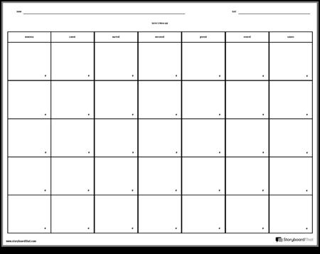 Calendario - 7 giorni