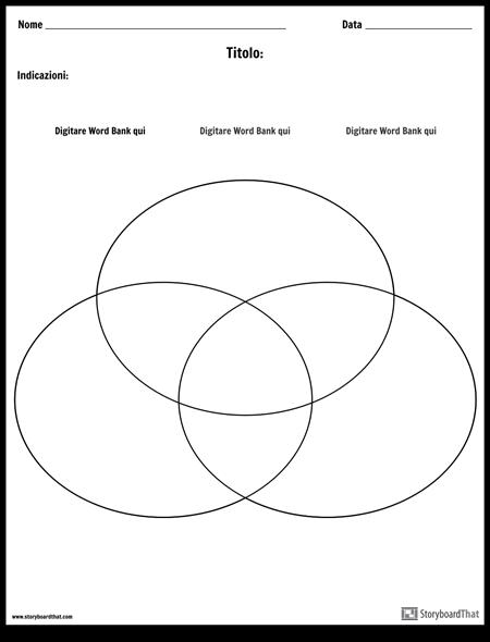Diagramma di Venn - 3