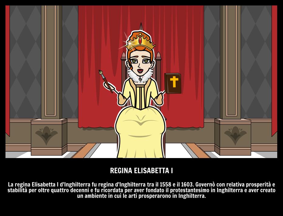 La Regina Elisabetta I
