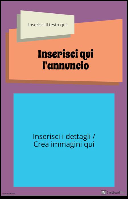 Manifesto di Annuncio Groovy