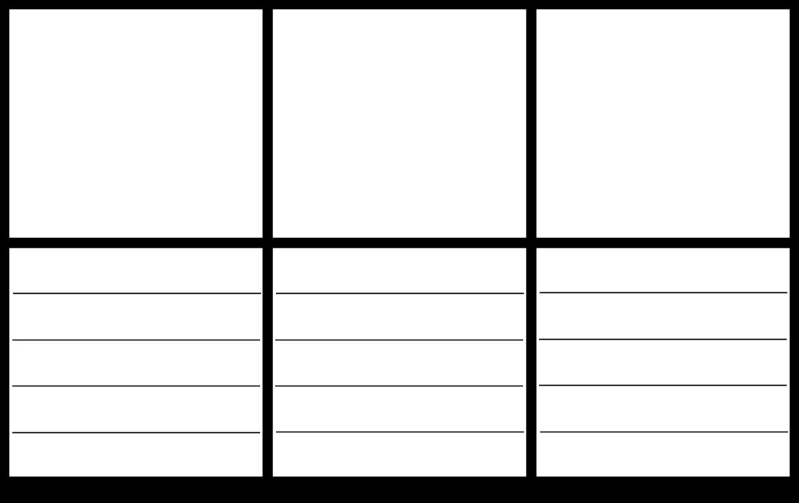 modello storyboard