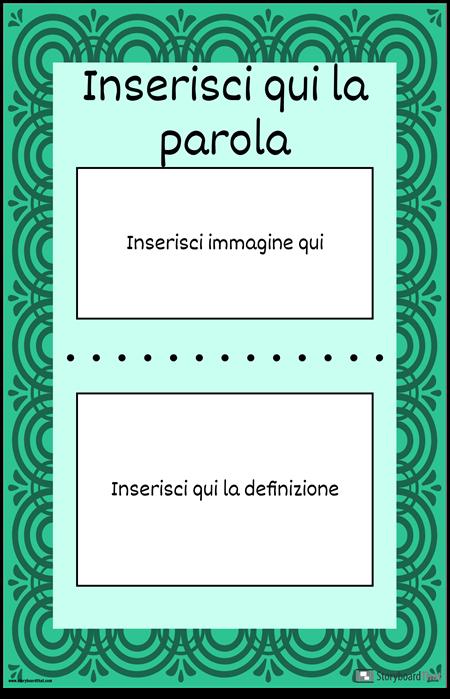 Parola Vocab Singola