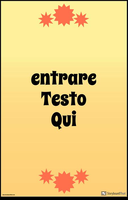 Poster di Citazione Verticale