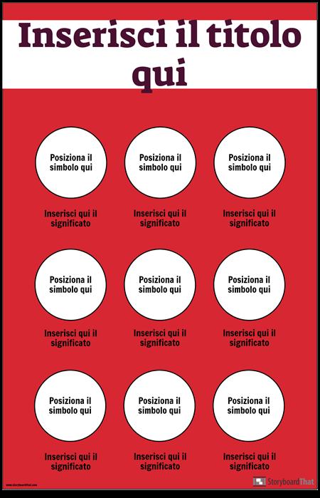Poster di Simboli di Sicurezza