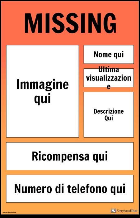Poster Mancante