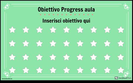 Poster per la Visualizzazione Degli Obiettivi Dell'aula