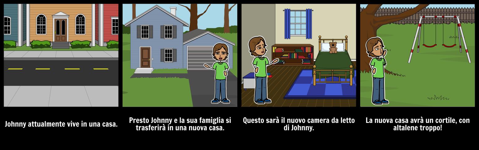 Trasferirsi in una nuova casa storyboard per it examples for Progettare una nuova casa online
