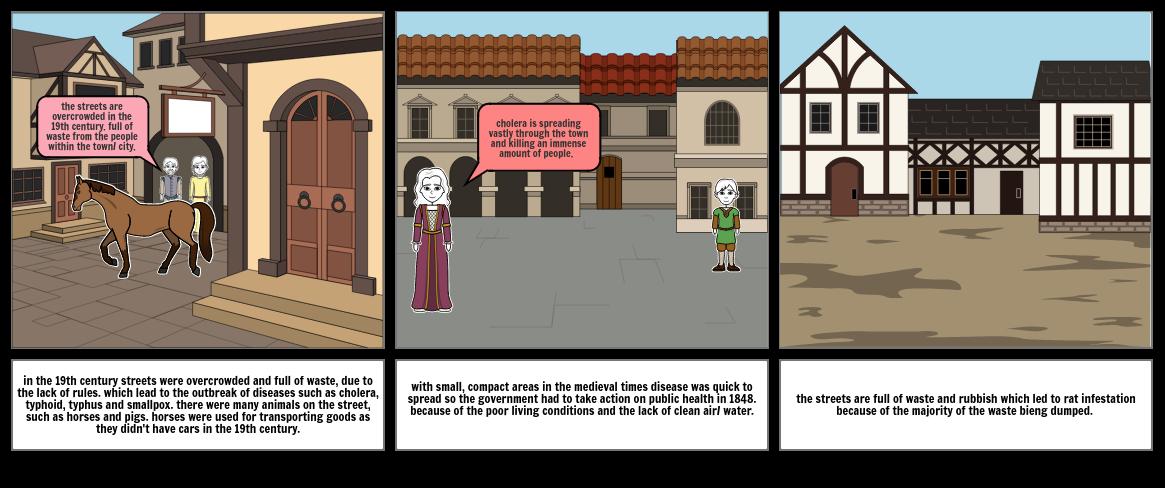 medieval storyboard