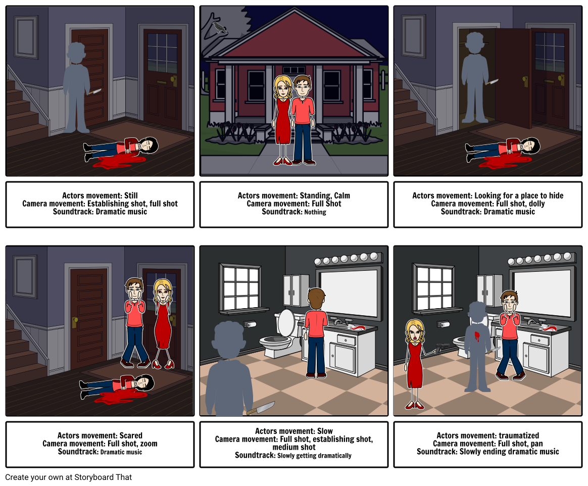 English Assessment Story Board That on Hitchcock