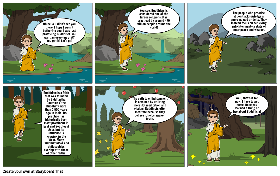 Buddhism Overview