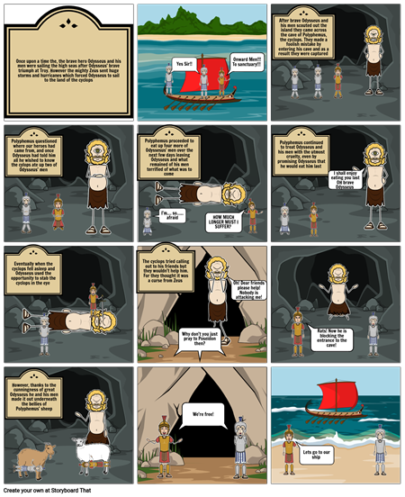 The odyssey comic