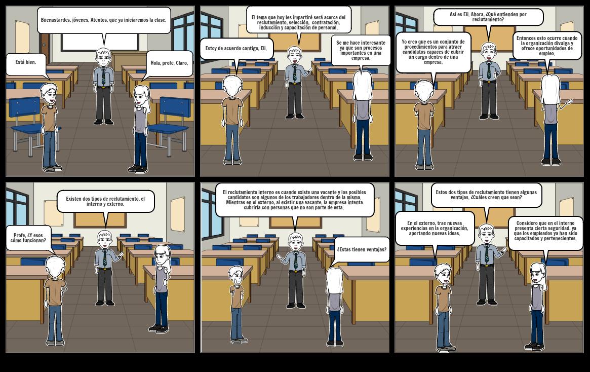 Reclutamiento laboral y procesos.