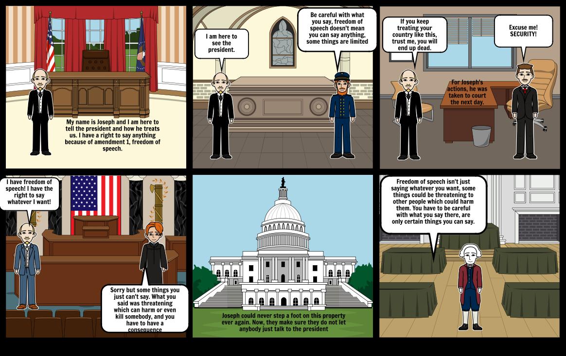 Limits of the first amendment
