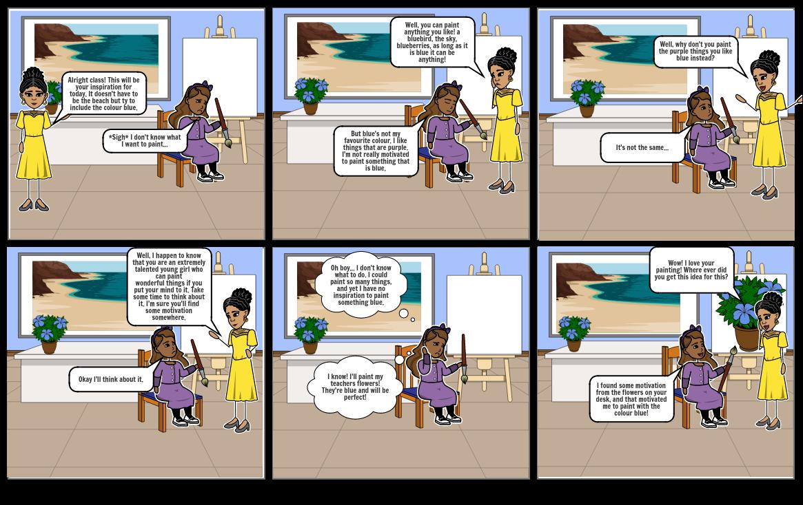 Psyc 385 Comic strip
