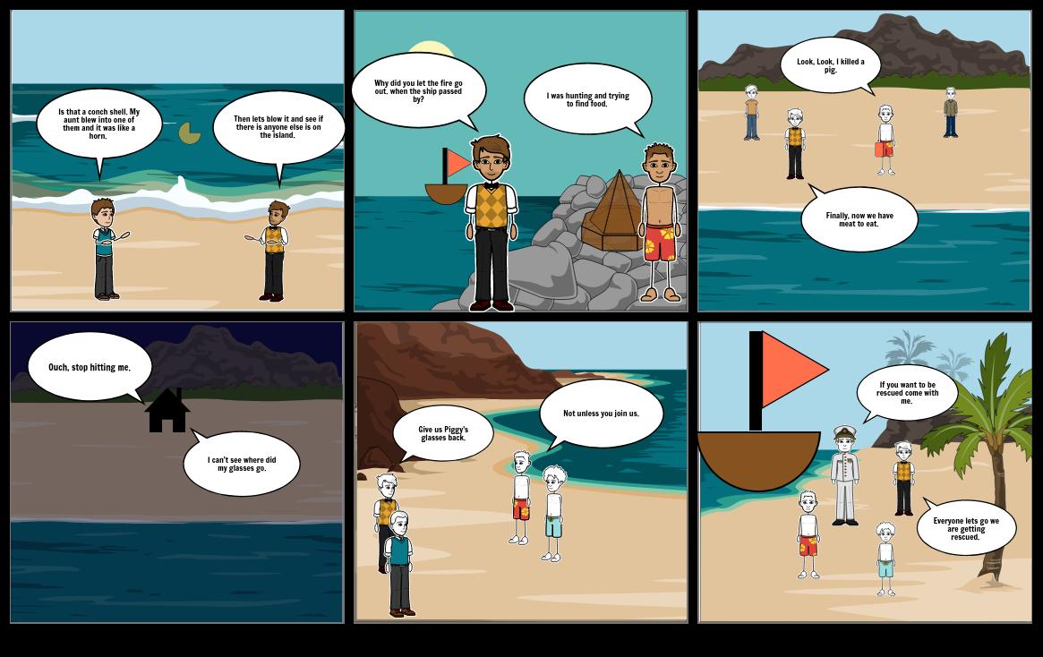 LOTF_Storyboard