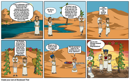 ancient indian society comic strip