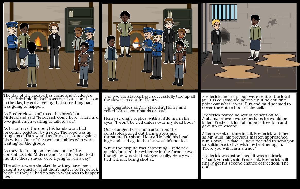 Frederick Douglass' Escape 2