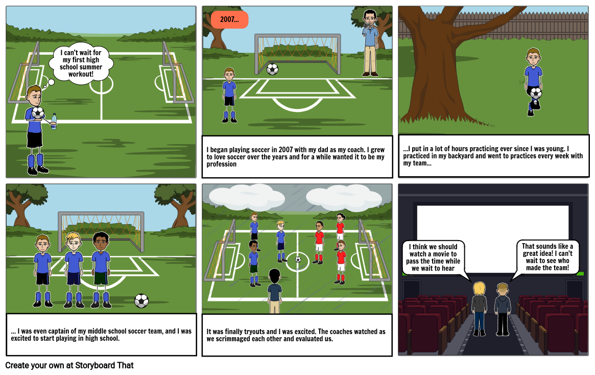 English project: Soccer