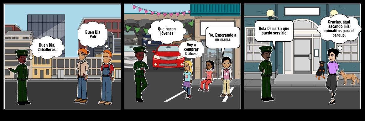Actividad Policia Municipio  De El Retorno Guaviare Cultura Ciudadana