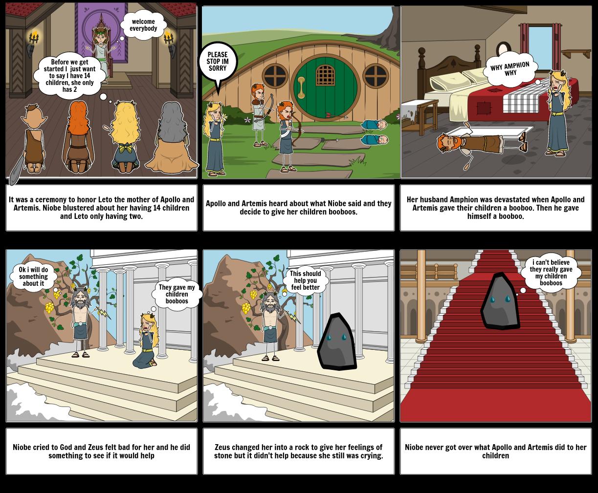 Mythological Story Time