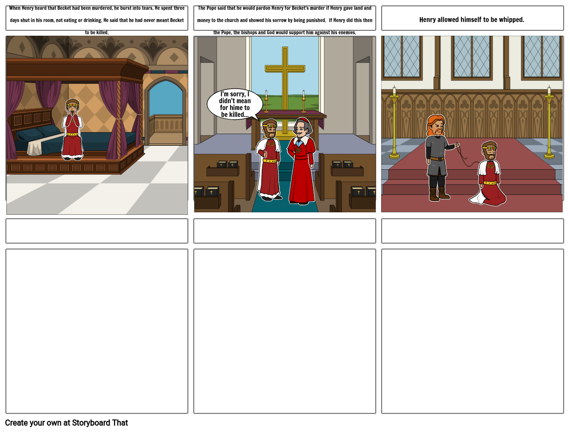 Medieval Times - King Henry VS Thomas Becket (part 2)