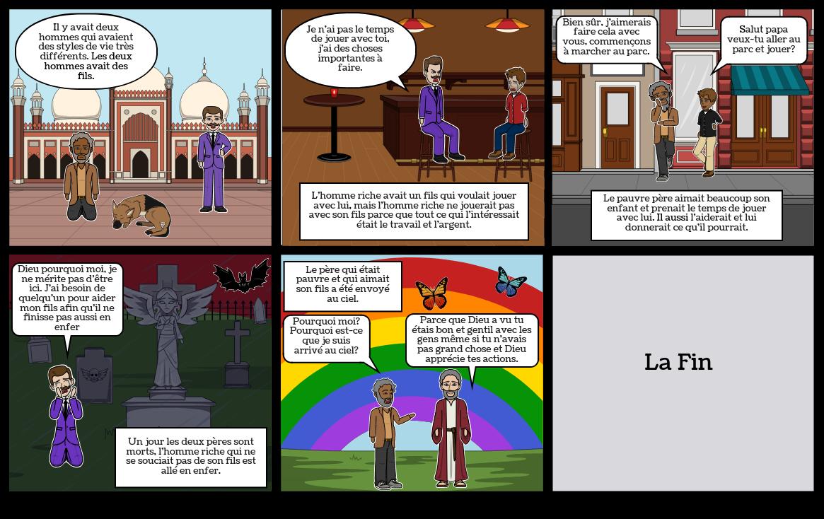 L'homme riche et Lazare (Luc 16.19-31)