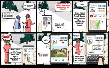 Linda storyboard