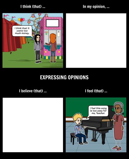 Opinion Statements