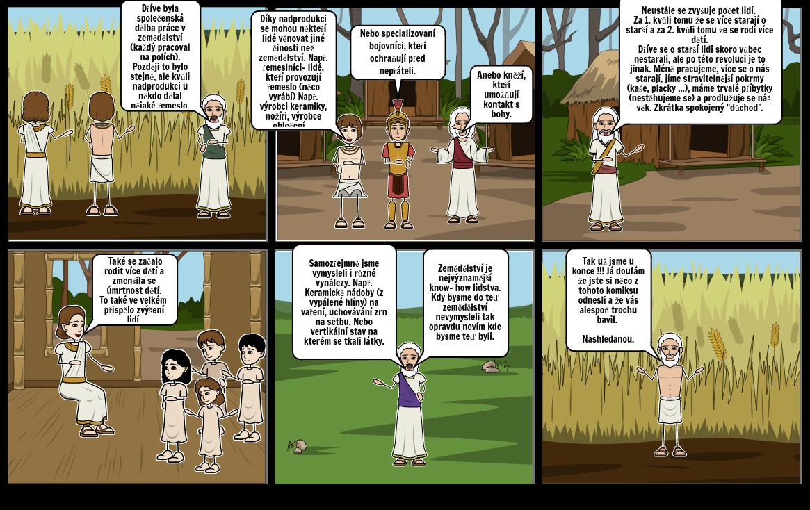 Komiks Neolitická revoluce 2