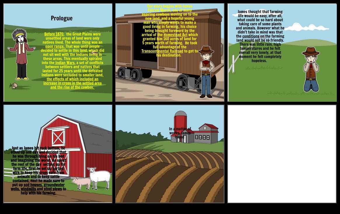 Settlement Storyboard