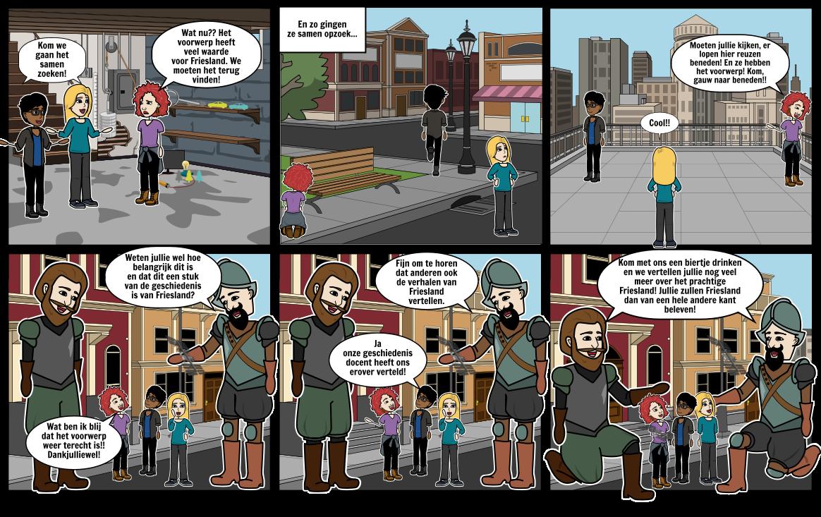Storyboard herkansing deel 2