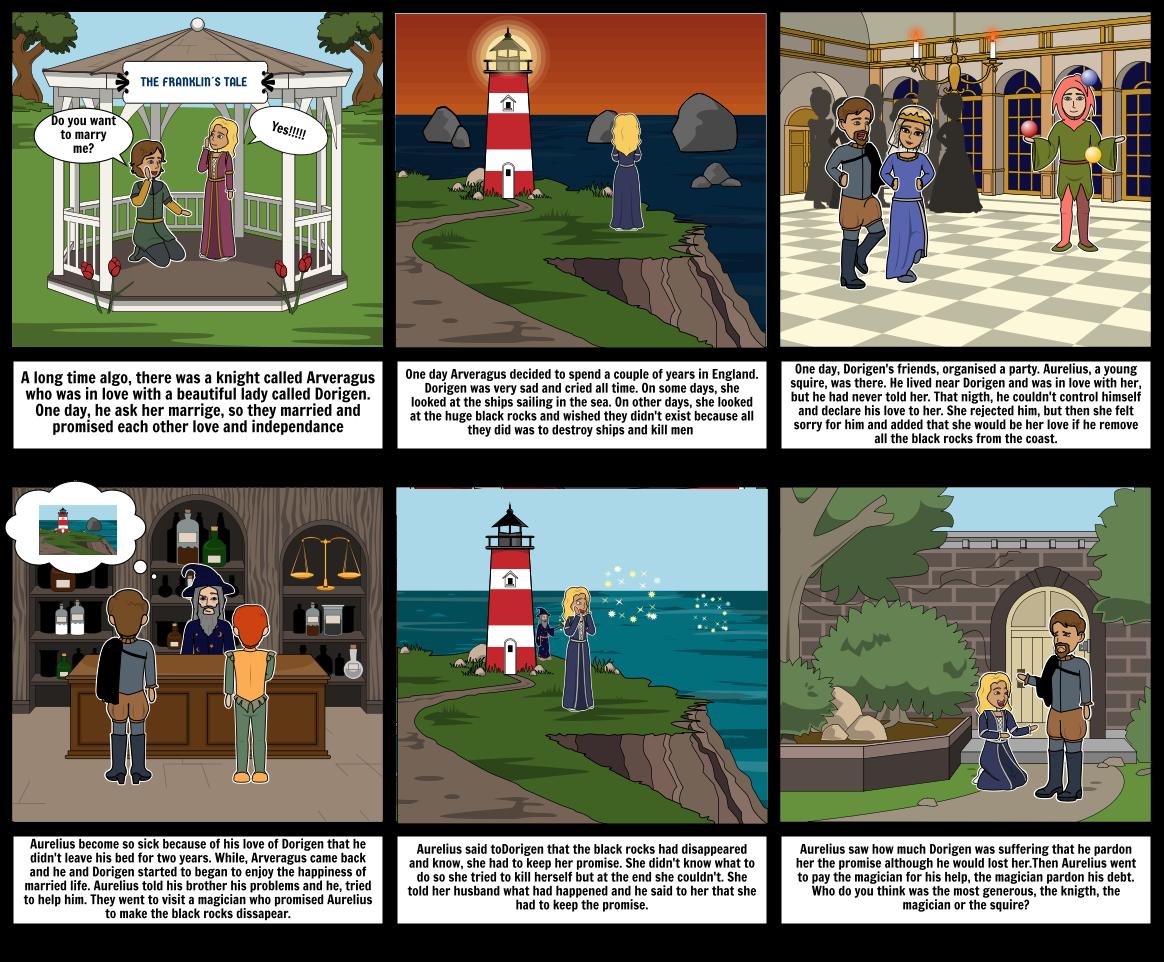 canterbury tale Storyboard by jimena004