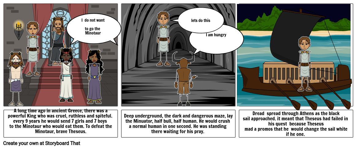 Abby's storyboard