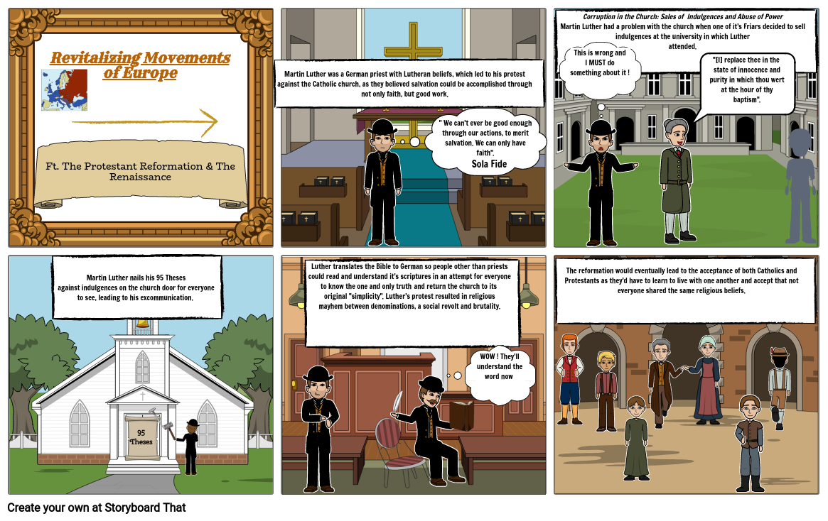 The Protestant Reformation and Renaissance