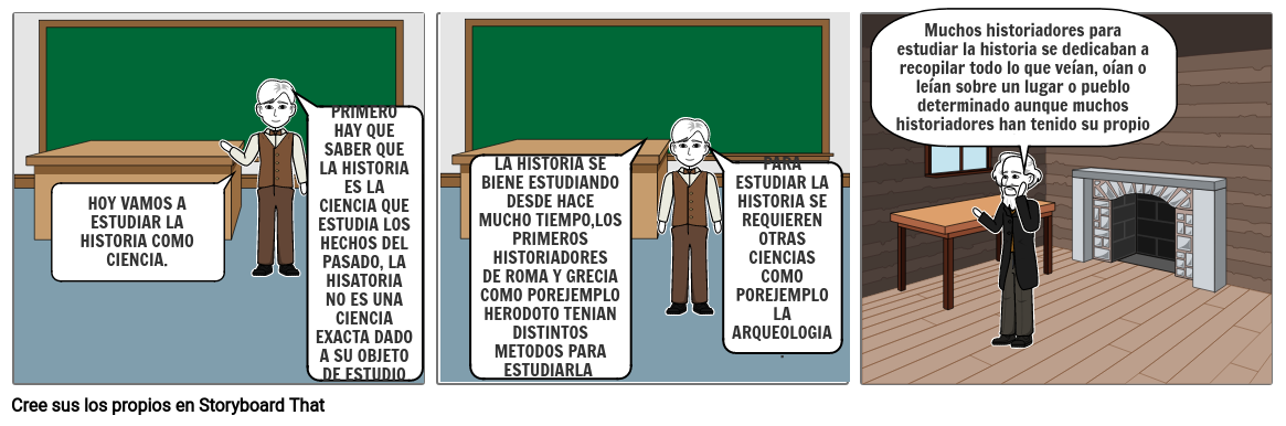 UNA CLASE DE HISTORIA
