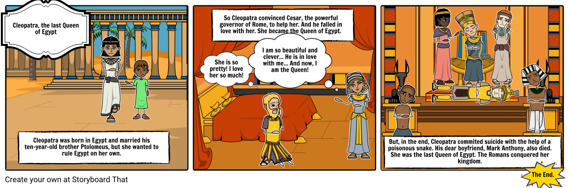 CLEOPATRA, THE LAST QUEEN OF EGYPT