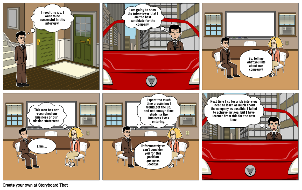 Comic Strip - Effective learning and Development.