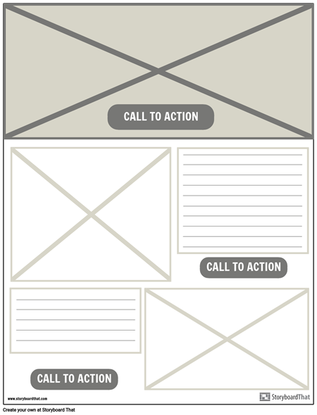 Wireframe UX example