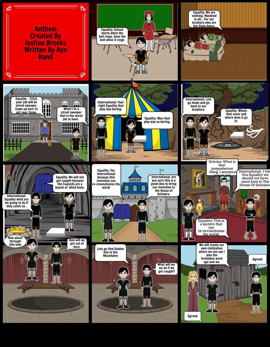 Anthem Storyboard by joshbrooks11