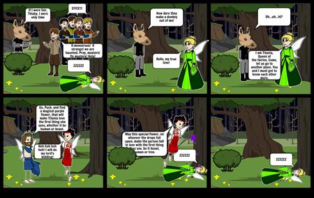A Midsummer Night's Dream Act 3