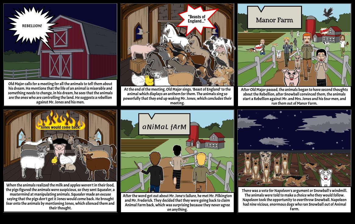 Animal Farm Comic - Joy