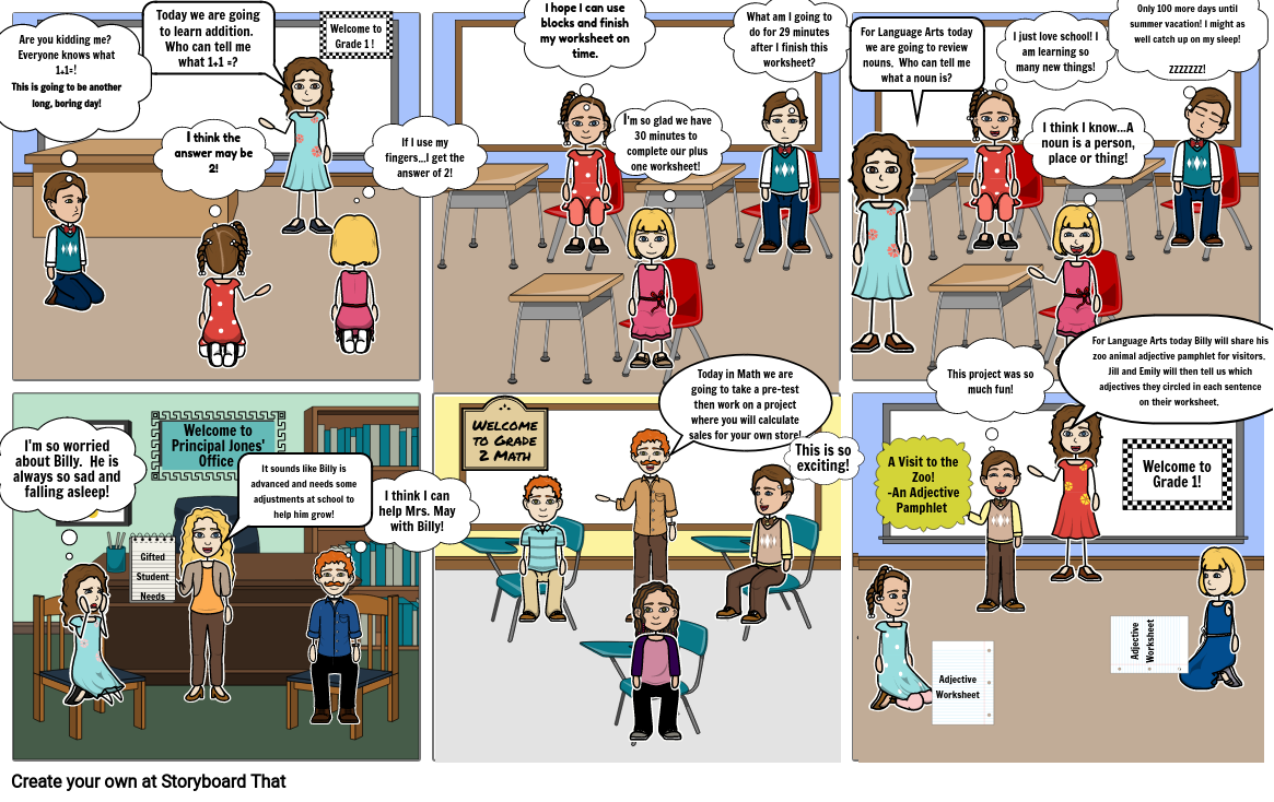 Gifted Differentiation Comic