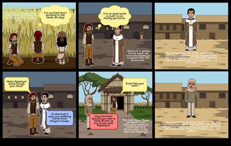 Ancient Indian Society Comic