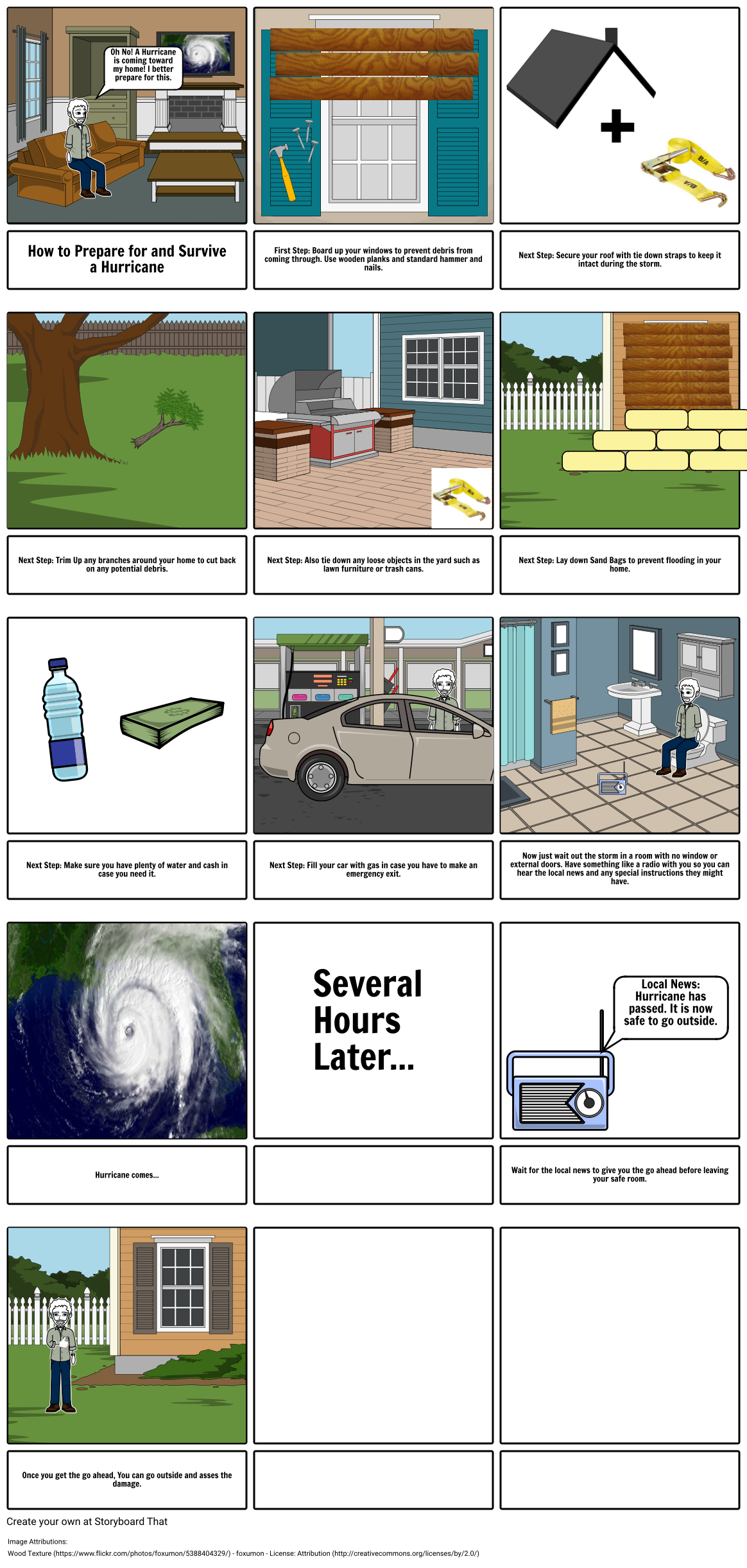 How to prepare for and survive a hurricane.